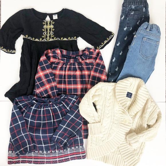 324a7c6b1adc0 Baby Gap Bundle Lot Fall Toddler Clothes